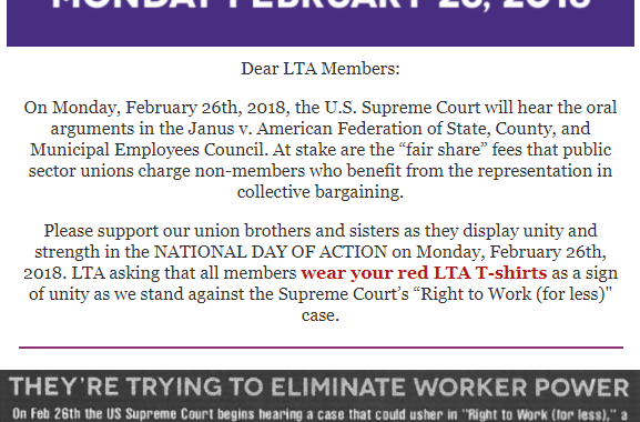 National Day of Action Post