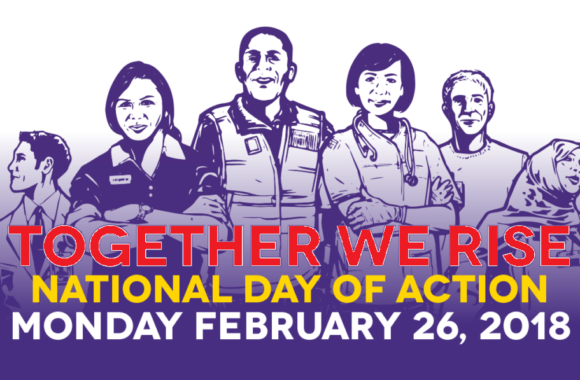 National Day of Action Poster_red